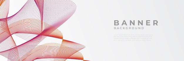 Moderne rote vektor abstrakte grafikdesign banner-muster-hintergrund-vorlage.