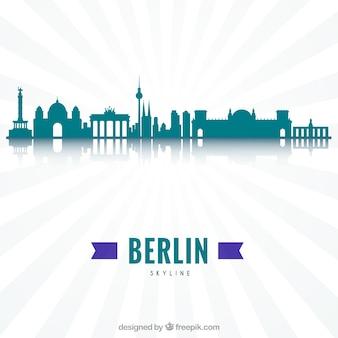 Moderne skyline von berlin