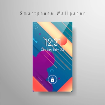 Moderne smartphone-tapete