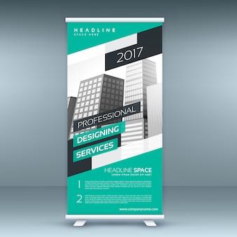 Moderne standee design template banner