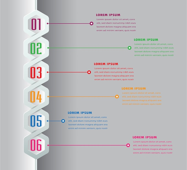 Moderne textbox vorlage, banner timeline infografik.