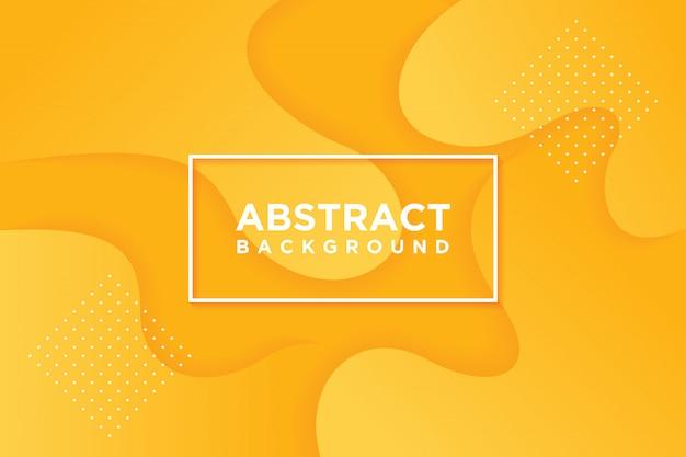 Moderne vektorvorlagen. abstrakter hintergrund 3d mit orange.