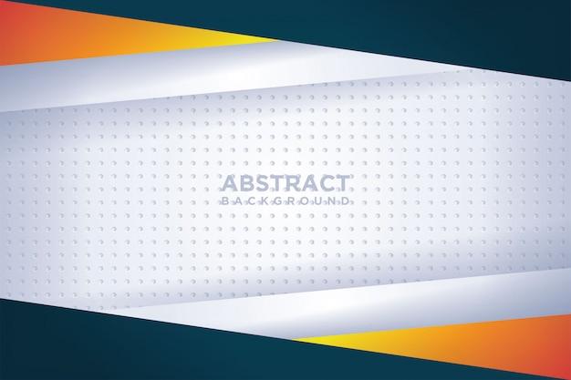 Moderne vektorvorlagen. abstrakter hintergrund mit überlappung.