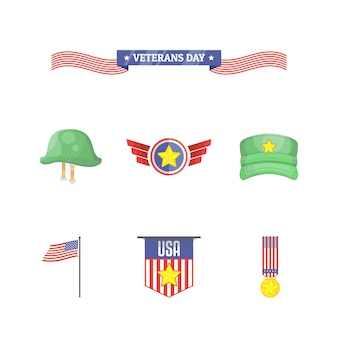 Moderne veteranen-tagesikone