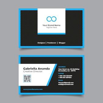 Moderne visitenkarten-namensvorlage