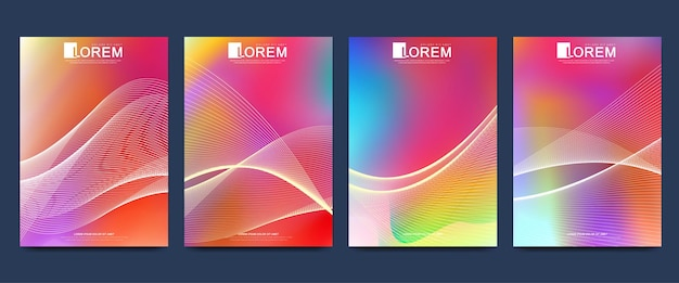 Moderne vorlage für broschüre