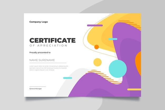 Moderne zertifikatvorlage