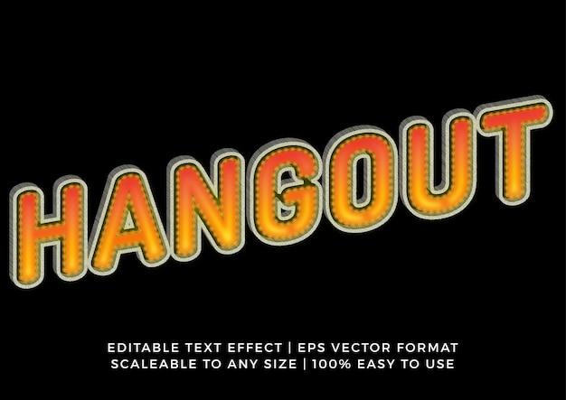 Moderner 3d-banner-grafiktitel-texteffekt