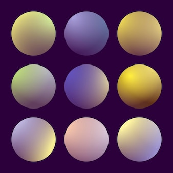 Moderner 3d-farbverlauf mit runden abstrakten hintergründen. bunte flüssige abdeckungen für kalender, broschüren, einladungen, karten. trendige weiche farbe. vorlage mit rundem farbverlauf für bildschirme und mobile app