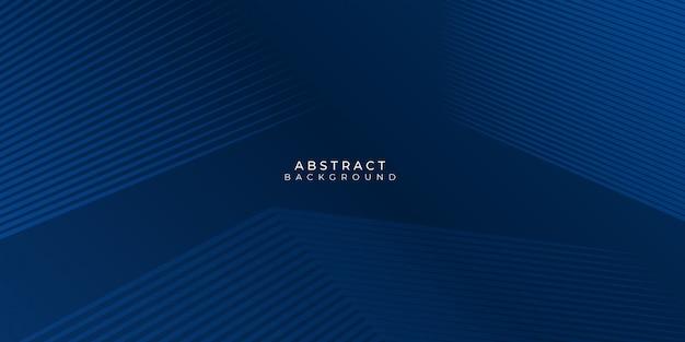 Moderner abstrakter blauer hintergrund mit linienstreifen und glänzender effektillustration. anzug für business, corporate, banner, hintergrund und vieles mehr