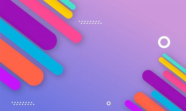 Moderner abstrakter farbhintergrund
