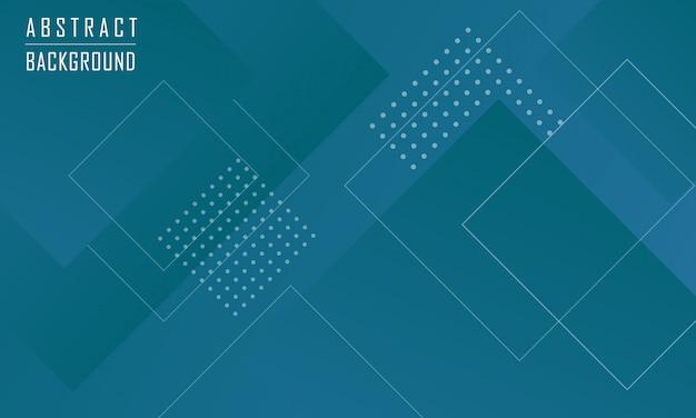 Moderner abstrakter geometrischer form-hintergrund