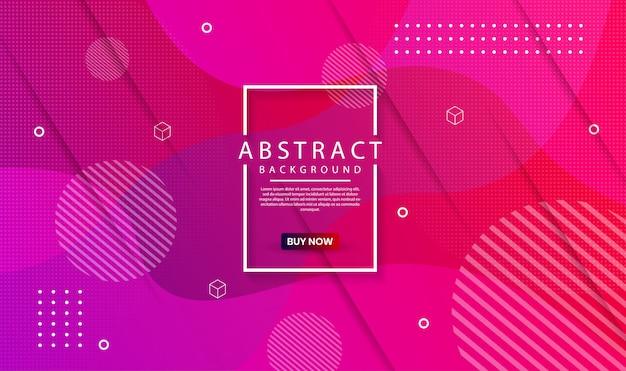 Moderner abstrakter geometrischer hintergrund mit dynamischer steigung