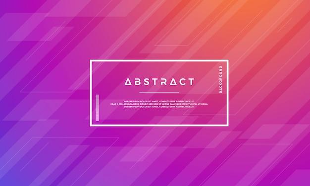 Moderner abstrakter geometrischer vektorhintergrund.