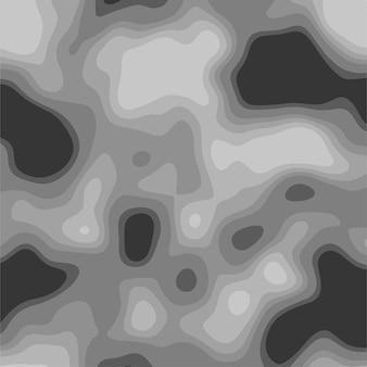 Moderner abstrakter hintergrund ähnlich dem bild einer wärmebildkamera, eines scanners, eines tomographen usw. 3d-stereoeffekt trendiges 3d-poster, tolles design für jeden zweck. graue farben