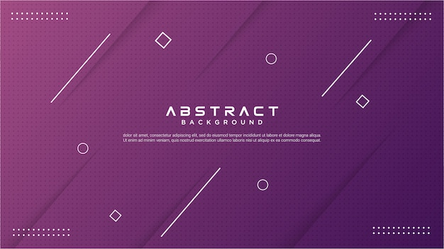 Moderner abstrakter hintergrund des farbverlaufs lila