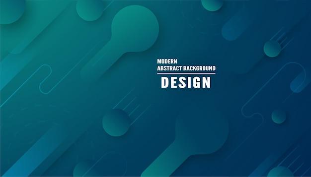 Moderner abstrakter hintergrund in der flüssigen und flüssigen art.