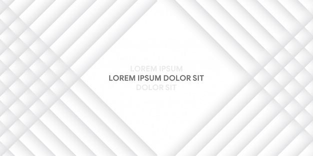 Moderner abstrakter hintergrund in grau und weiß