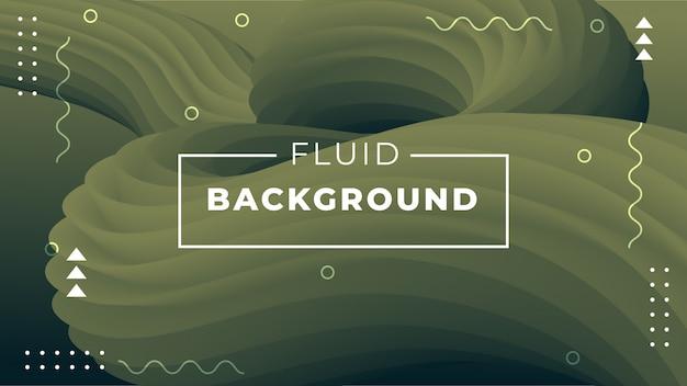 Moderner abstrakter hintergrund mit flüssigen formen 3d