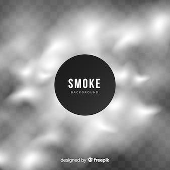 Moderner abstrakter hintergrund mit rauch