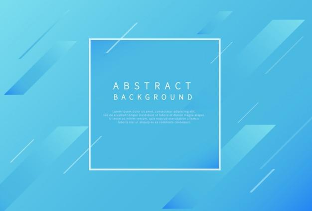 Moderner abstrakter hintergrund mit steigungsblau.