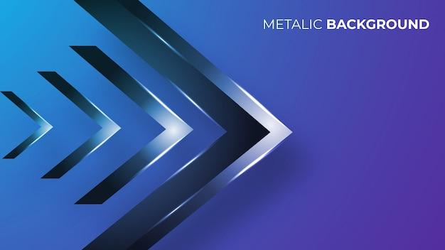 Moderner abstrakter metallischer hintergrund