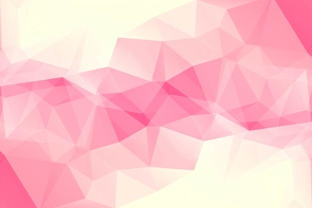 Moderner abstrakter polygonaler hintergrund
