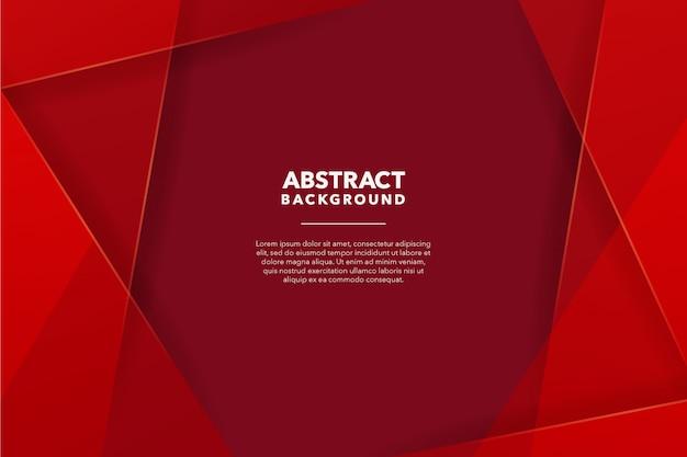 Moderner abstrakter roter hintergrund