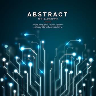 Moderner abstrakter technologiehintergrund
