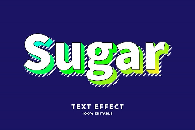 Moderner alter retro- pop-arten-texteffekt