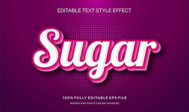 Moderner bearbeitbarer textstil-effekt mit. bearbeitbarer text. .