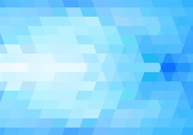 Moderner blauer geometrischer formenhintergrund