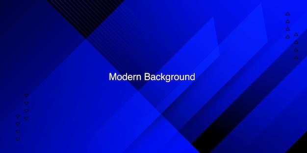 Moderner blauer hintergrund mit farbverlauf