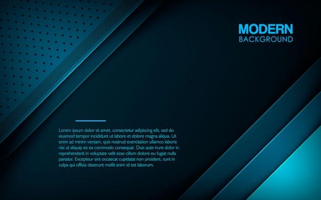 Moderner blauer strukturierter schichtüberlappungshintergrund