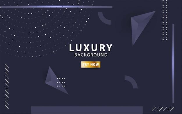 Moderner blauer unbedeutender luxushintergrund
