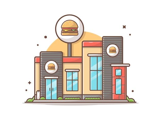 Moderner burgerladen