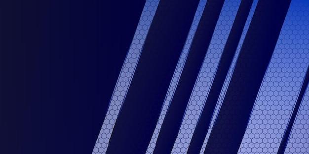 Moderner dunkelblauer abstrakter hintergrund