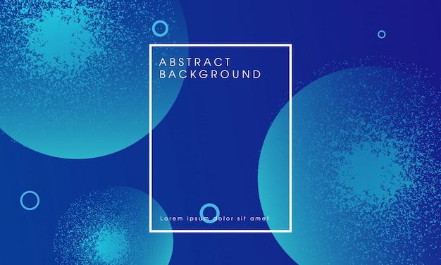 Moderner dynamischer blauer abstrakter hintergrund