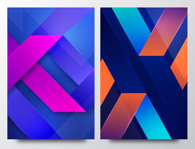 Moderner eleganter abstrakter vertikaler hintergrund