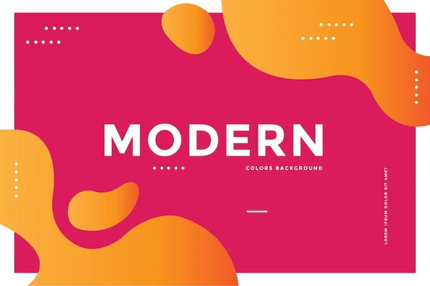 Moderner farbhintergrund