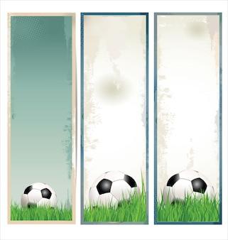 Moderner fußballhintergrund