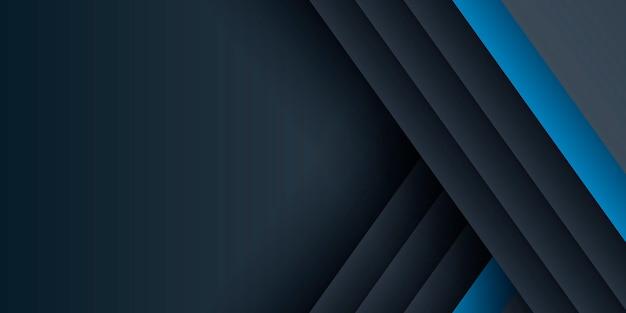 Moderner futuristischer blauer weißer abstrakter hintergrund