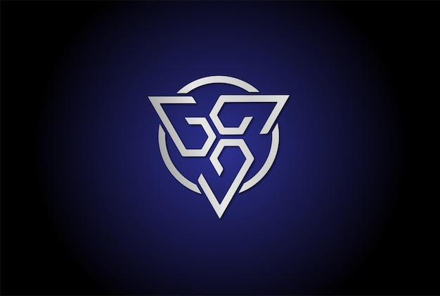 Moderner futuristischer dreieck-ketten-logo-design-vektor