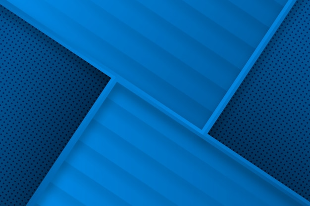 Moderner geometrischer abstrakter blauer hintergrund