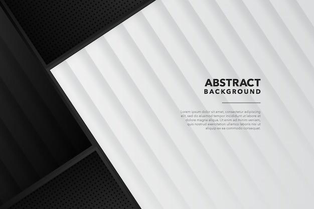 Moderner geometrischer abstrakter schwarzer weißer hintergrund