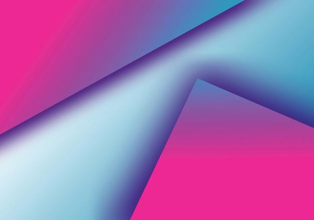 Moderner geometrischer hintergrund
