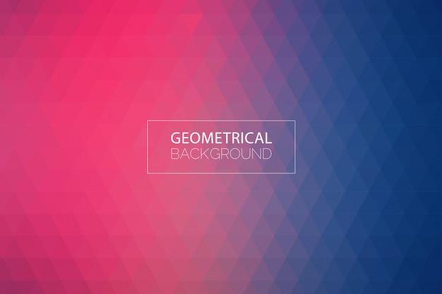 Moderner geometrischer purpurroter blauer hintergrund