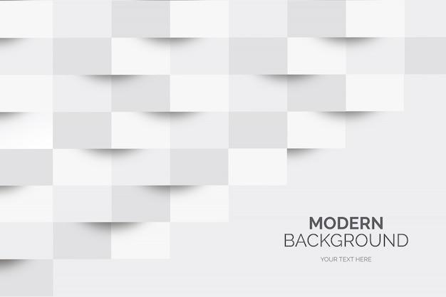 Moderner geschäftshintergrund mit geometrischen formen