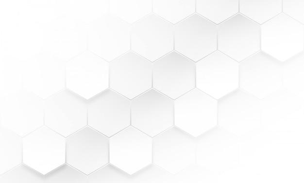 Moderner hexagon-hintergrund, abstrakter geometrischer hintergrund