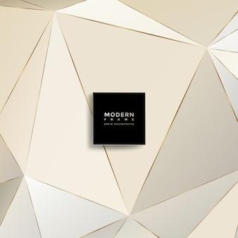 Moderner hintergrund, abstrakte geometrische formen
